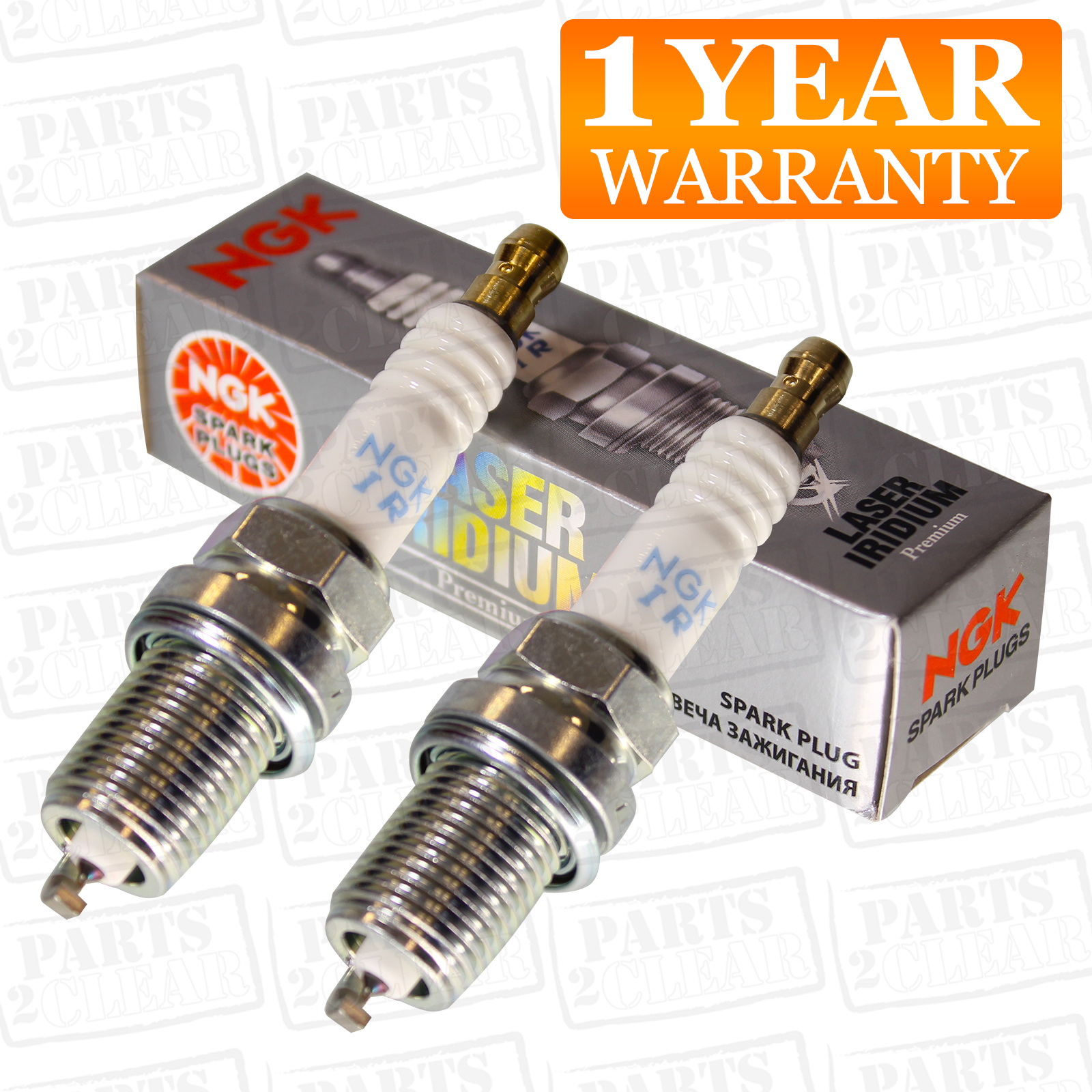 3x Iridium Upgrade Spark Plugs Fits Pixo 1.0 2009-