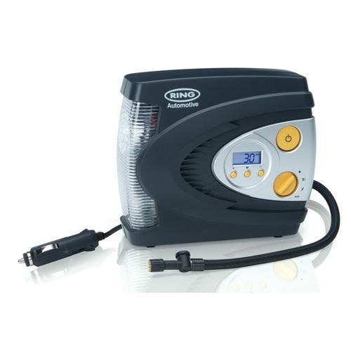 Ring 12v automatic digital air compressor rac630 electric - Gonfleur electrique pneu 12v 220v ...