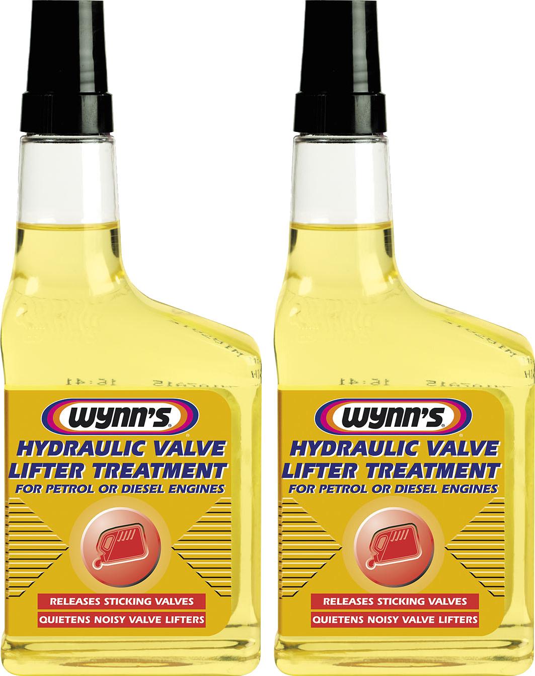 Details about 2x Wynns Hydraulic Valve Lifter Treatment 325ml 76864 Petrol  Diesel Oil Additive