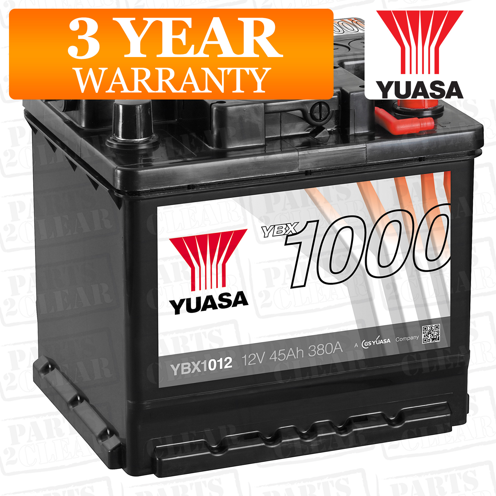 Yuasa Car Battery Calcium 380cca 45ah T1 For Smart Fortwo 1 Micro Hybrid Drive