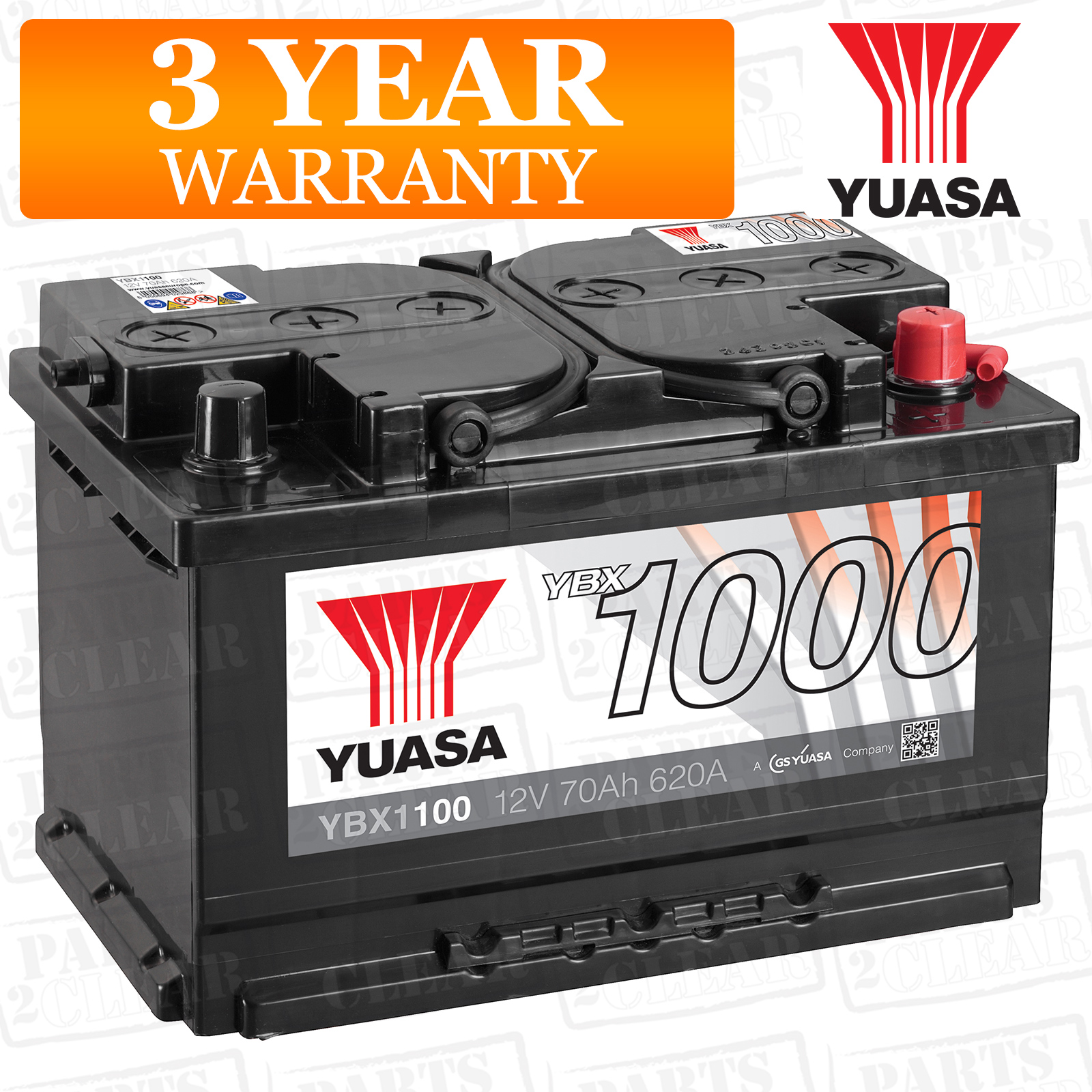 Yuasa Car Battery Calcium Open Vent 620cca 70ah T1 For Ford Focus Mk1 2 0 St170