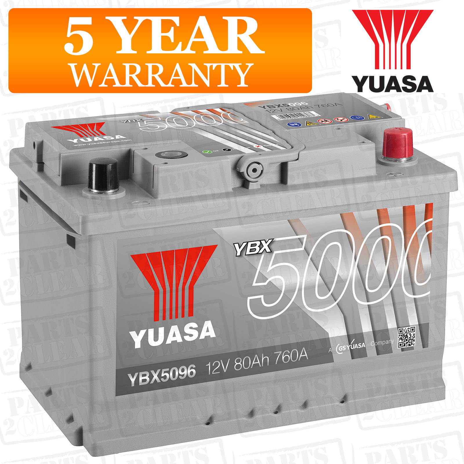 Yuasa Car Battery 760cca Replacement Spare Part For Vw Golf Plus Mk5 1 9 Tdi