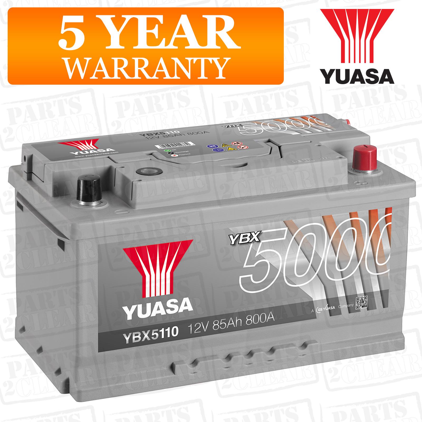 yuasa car battery calcium 12v 800cca 85ah t1 for renault. Black Bedroom Furniture Sets. Home Design Ideas