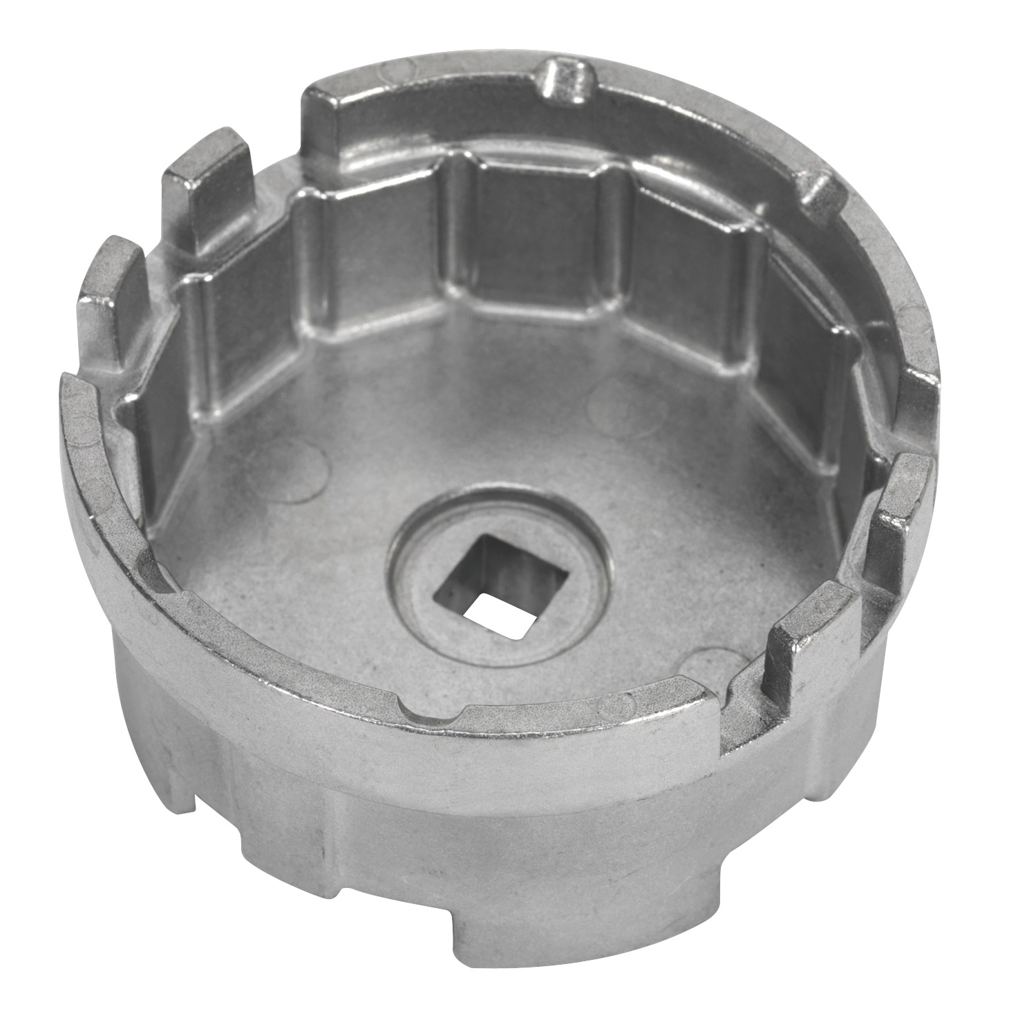 Sealey VS7111 Oil Filter Cap Wrench 64.5mm X 14 Flutes Toyota Garage Workshop