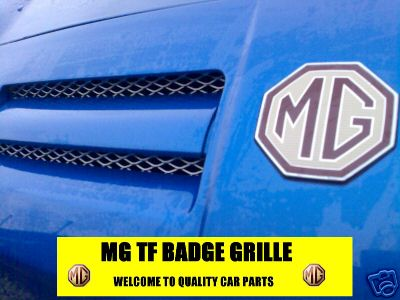 View Item CHROME MG TF MGTF FRONT BUMPER GRILLE RADATIOR MESH