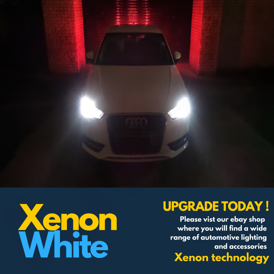 55w ICE Blue Xenon HID Upgrade Low Dip Beam Headlight Headlamp Bulbs Pair