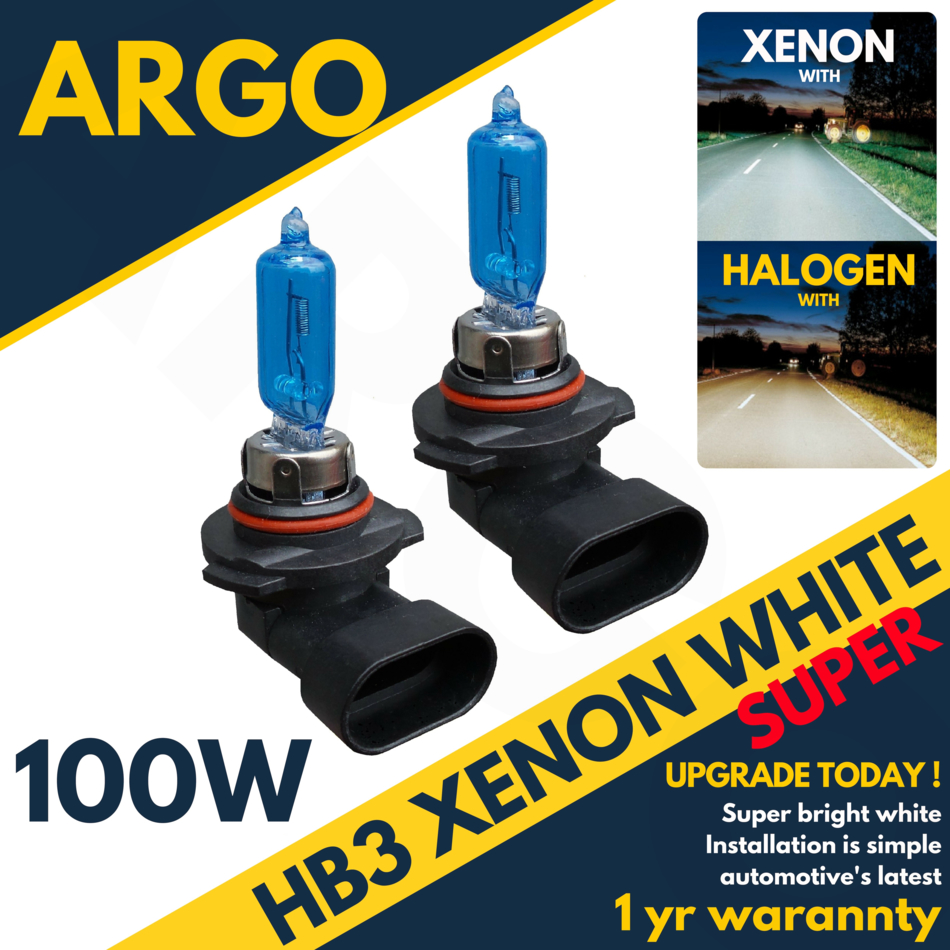 hb3 100w 9005 8500k super blanc phare x non hid spot drl ampoules ebay. Black Bedroom Furniture Sets. Home Design Ideas