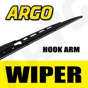 BLACK RUBBER WIPER BLADE WINDSCREEN STANDARD FIT X 1 LHD OR RHD FRONT REAR Preview
