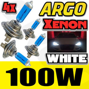 H7 WHITE 100W XENON BULBS SUPER BRIGHT WHITE LIGHT HIGH QUALITY UK SELLER Preview