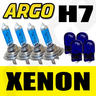 View Item H7 XENON SUPER WHITE 55W BULBS DIPPED BEAM HID HEADLIGHT HEADLAMP 501 LIGHT X 4