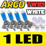 View Item H7 XENON SUPER WHITE 100W BULBS DIPPED BEAM HID HEADLIGHT HEADLAMP 501 LIGHT 4