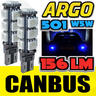 View Item 2X ERROR FREE CANBUS 501 13 SMD LED FRONT CORNERING BULBS BLUE XENON T10 W5W 194