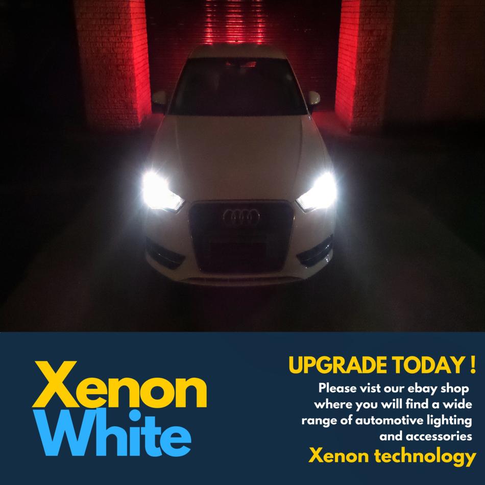 Pair 4x Transit Mk7 07-12 Xenon White H4 100w Halogen Bulbs 6000k 472