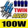 View Item H4 XENON SUPER WHITE 100W BULBS FRONT CORNERING 12V HEADLIGHT HEADLAMP LIGHT X 4