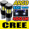 View Item CREE ERROR FREE CANBUS 501 SMD LED FRONT CORNERING BULBS WHITE XENON T10 W5W 194