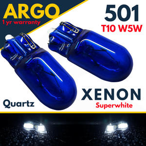 501 W5W 158 168 T10 XENON SUPER WHITE BRIGHT HID HIGH POWER SIDE LIGHT BULBS 12v Preview