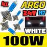 View Item 4x H7 24V 100W XENON SUPER BRIGHT WHITE LIGHT BULBS DAF CF 65 75 85  HID UPGRADE