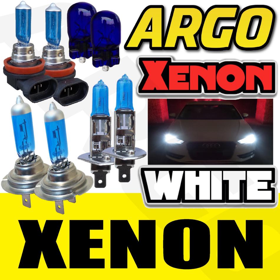 Audi A4 B6 H7 H7 H11 501 55w Super White Xenon High//Low//Fog//Side Headlight Bulbs