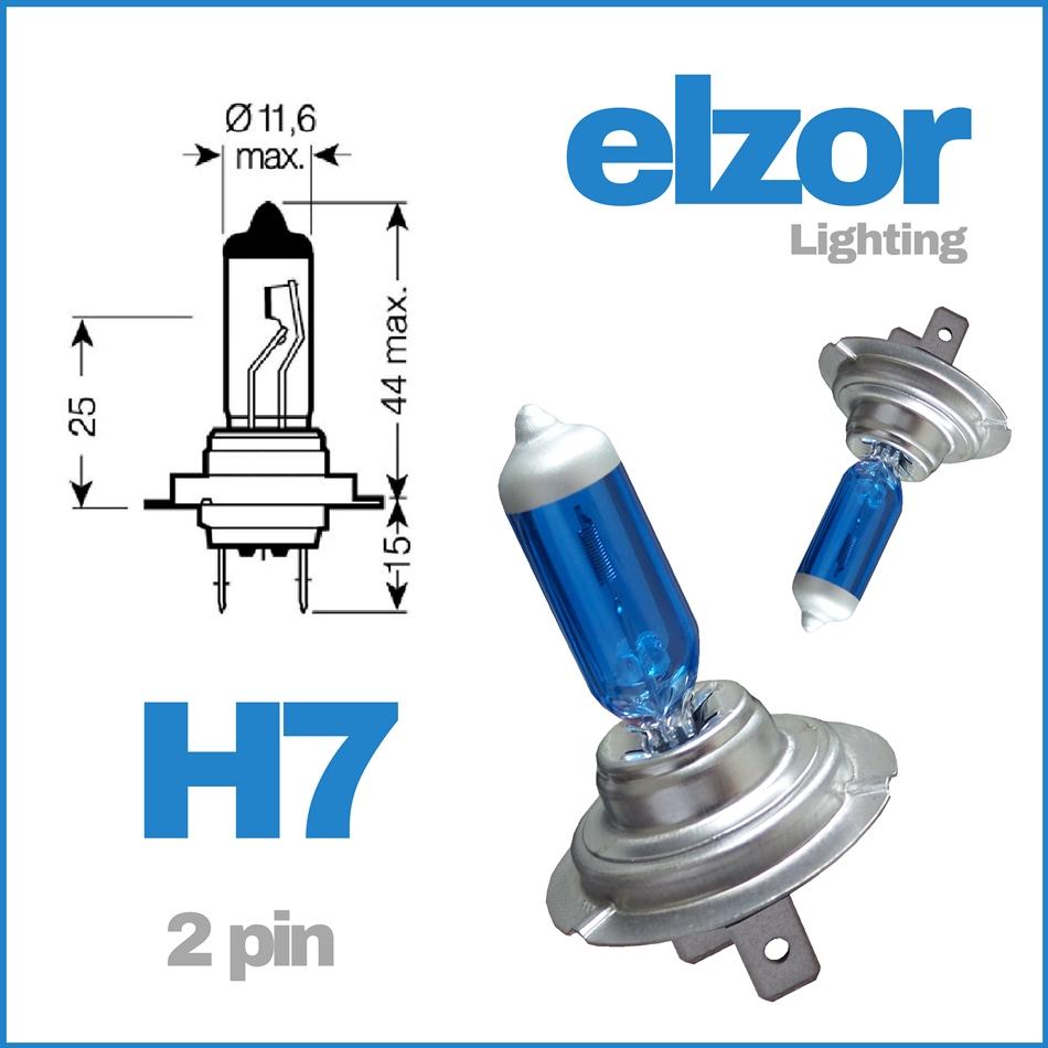 H7 501 499 2 pin 477 100w Xenon Headlight Bulbs