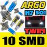 View Item H7 H7 501 100W SUPER WHITE XENON HID HIGH/LOW/SIDE LIGHT BEAM HEADLIGHT BULBS