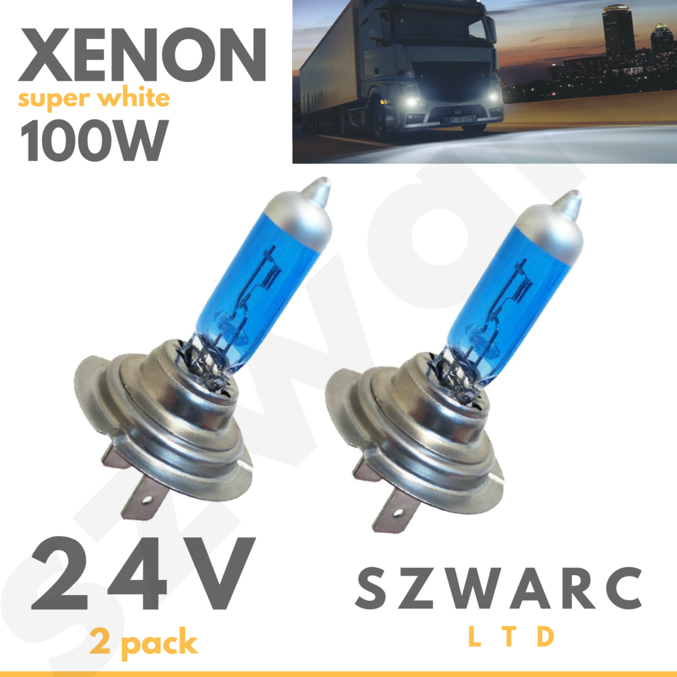 Xenon HID Conversion Kit H1 8000K 55 W pour HGV 24 V UK Vendeur