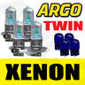 View Item 4X H3 55W SUPER WHITE XENON 453 HEAD LIGHT BULBS 12V 501 W5W SIDELIGHT FOG TWIN