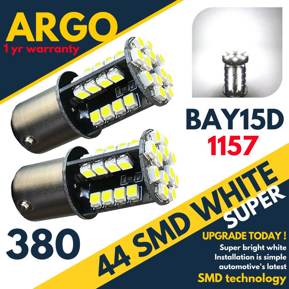 380 Bay15d SBC 12 V 21//5W LLB380 Frein Stop Feu Arrière Ampoules x 10