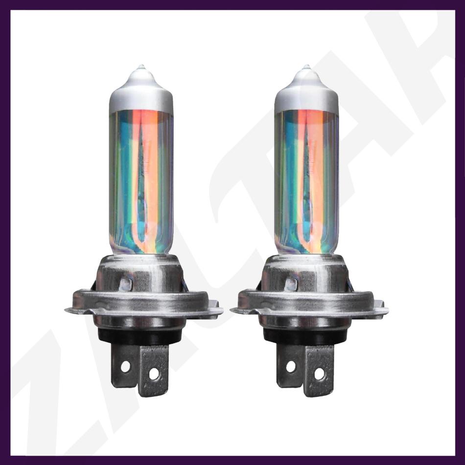 2x Jaguar X-Type Bright Xenon White Superlux LED Number Plate Light Bulbs