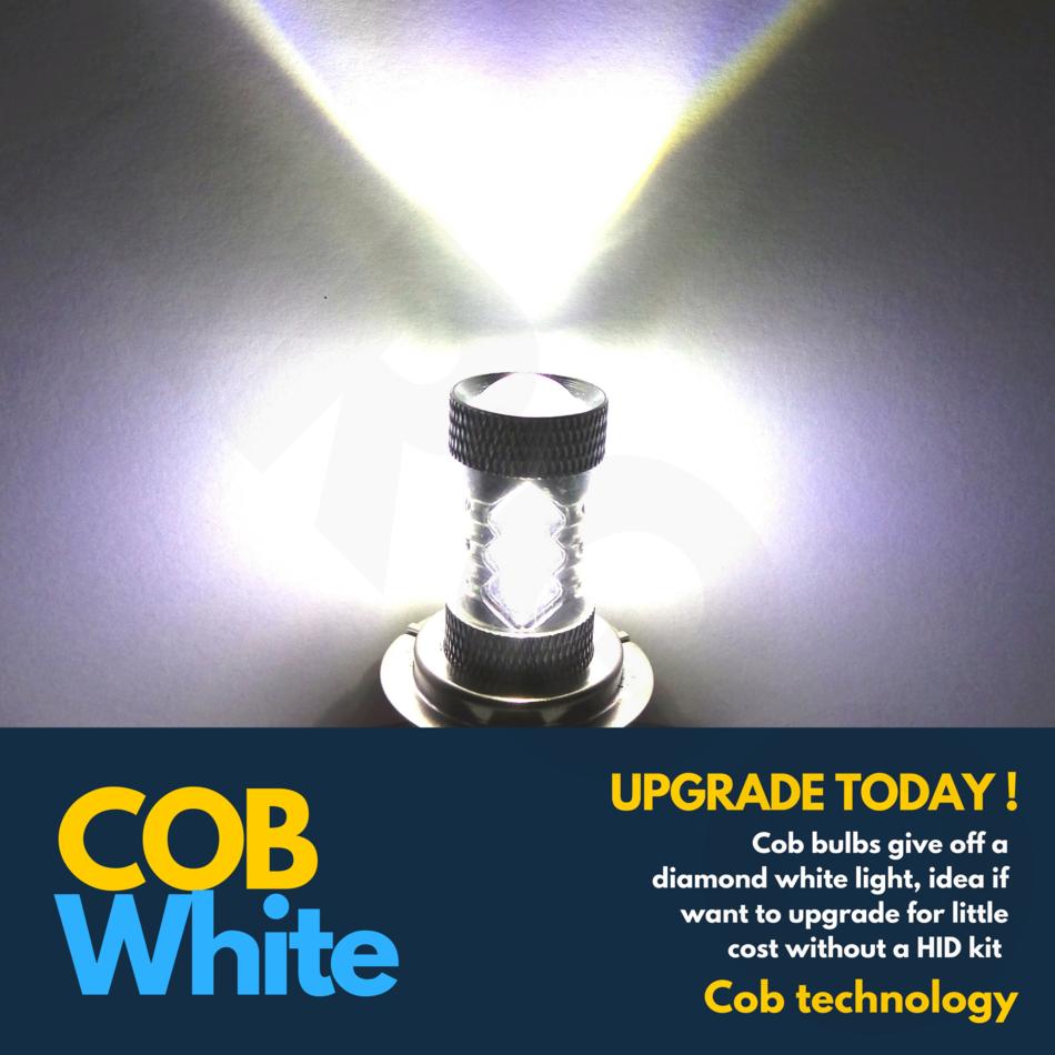 H11 H8 Cree 16w Led Smd Canbus Error Free Cree Cob For Audi Bmw Vw White 6500k
