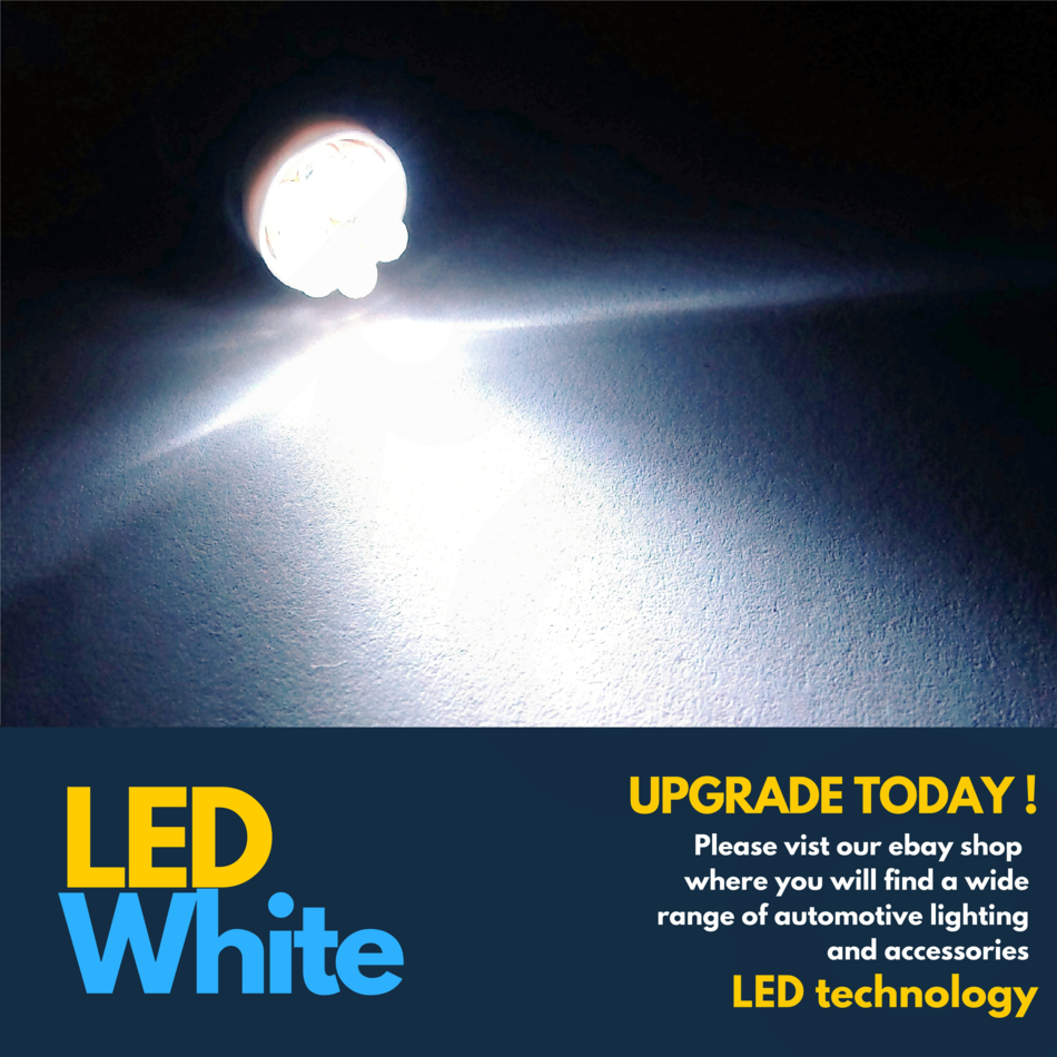 Opel Meriva A H1 501 100w Super White Xenon HID Low//Side Headlight Bulbs Set