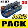 View Item H4 H7 EMERGENCY LIGHT BULB FUSE CAR 30 KIT SPARES 233 BA9S 382 380 1156 1157 55W