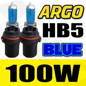 2x HB5 9007 100W XENON ICE BLUE HEADLIGHT BULBS 12V 8500K HID EFFECT CAR UPGRADE Preview