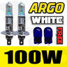 View Item H1 100W XENON SUPER WHITE HID HEADLIGHT BULBS FOG BRIGHT 12V ICE