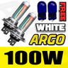 View Item H7 XENON WHITE 100W MAIN DIPPED BEAM HEADLIGHT HEADLAMP 501 SIDELIGHT BULBS X 2