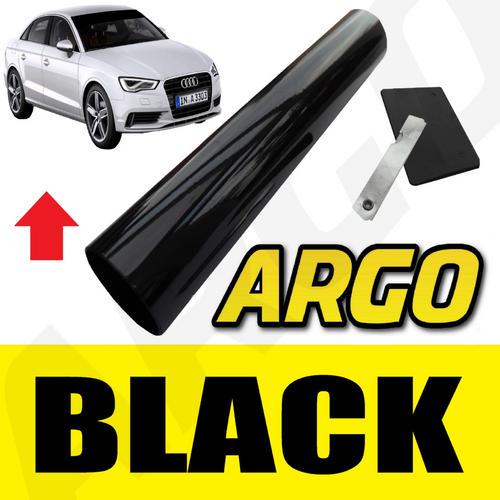 Black Windscreen Tint Strip Film Shade Kit Sunvisor Sun Visor Shade Fade Solar