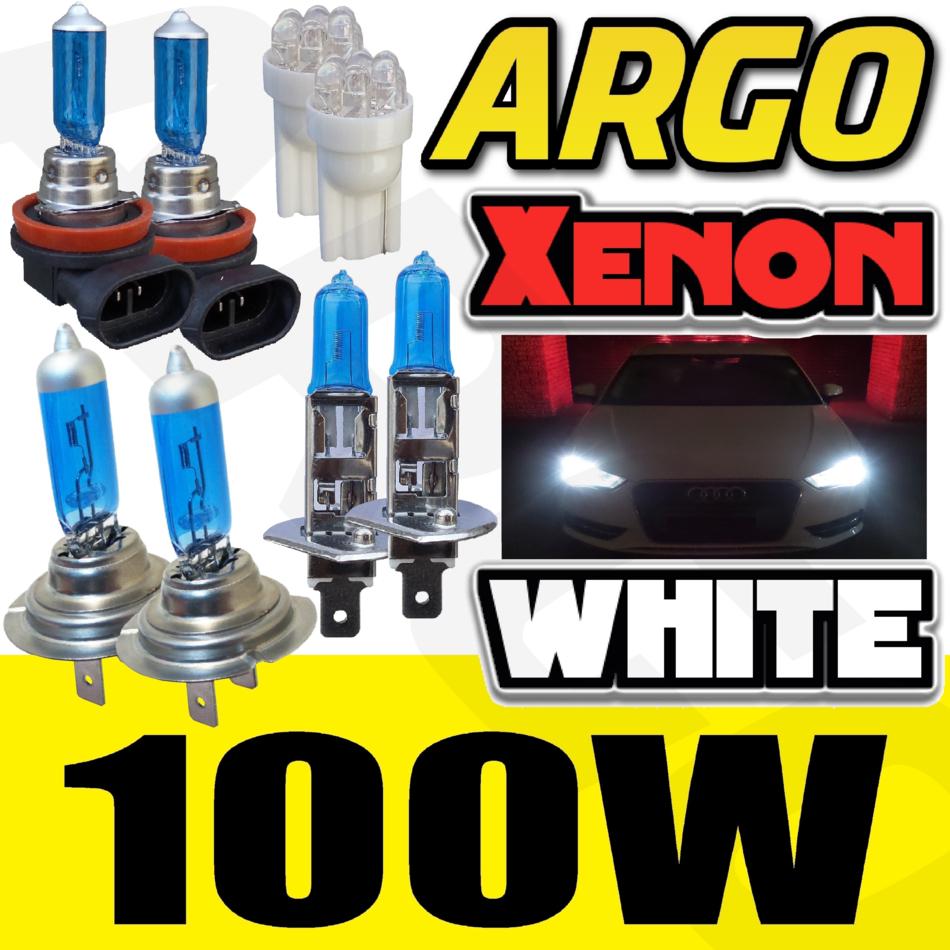 AUDI TT 8J H7 H7 H11 501 100W Super Blanc XENON high low côté ampoules brouillard