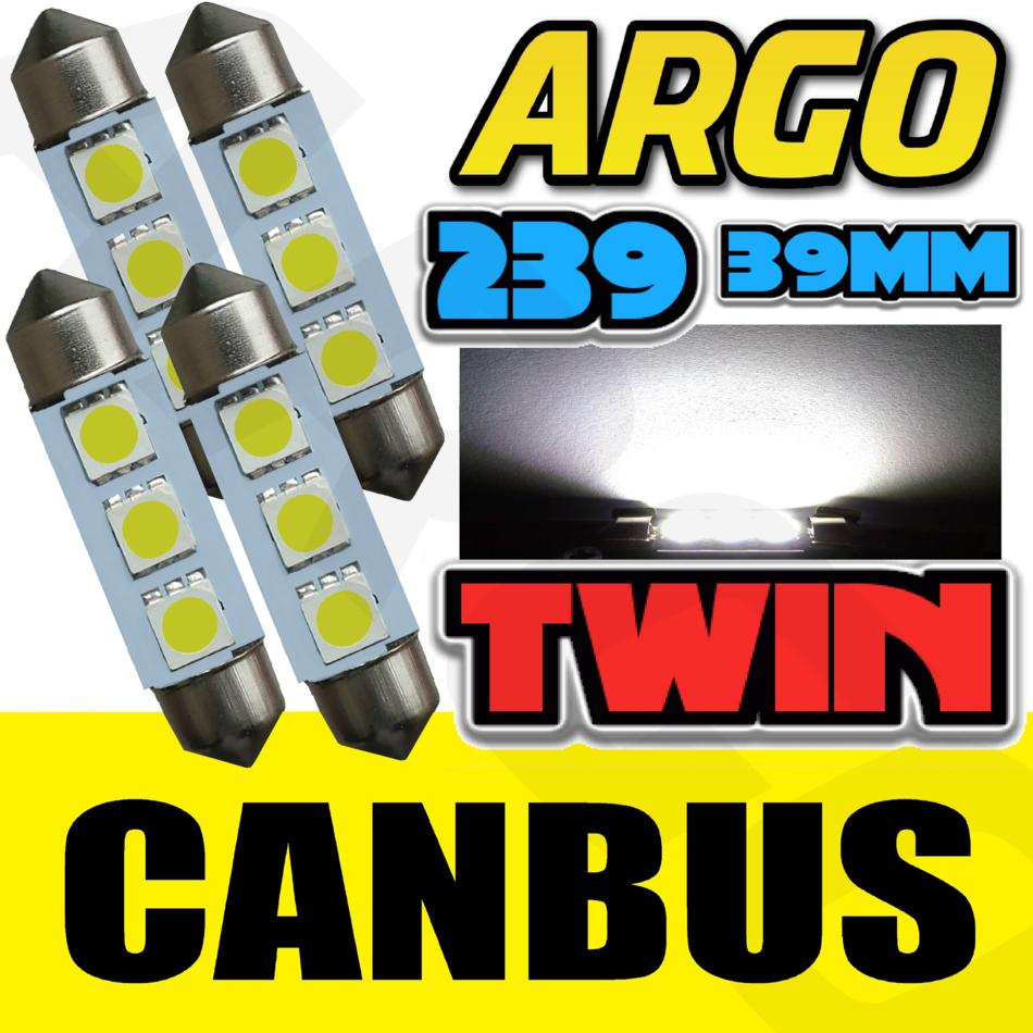 Renault Laguna MK2 239 C5W White Interior Courtesy Bulb LED Light Upgrade