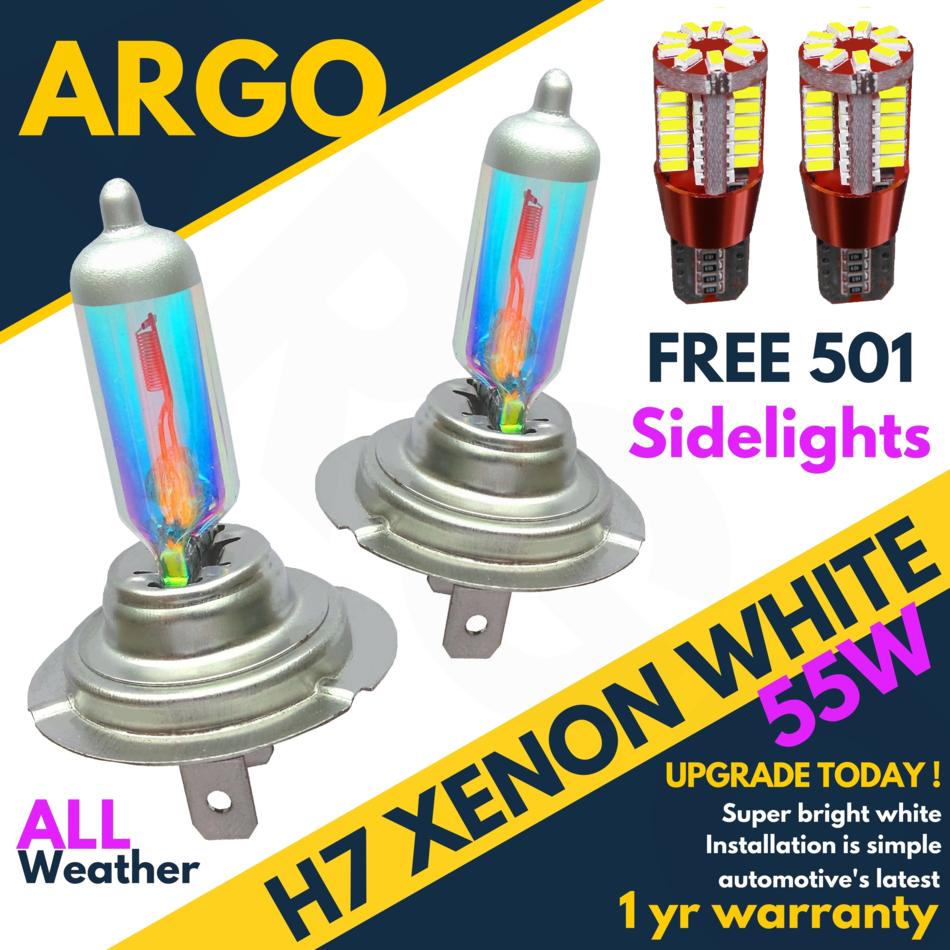 H7 100w 8500k Xenon Hid Super White Effect Look Headlight Lamps Light Bulbs 501 Auto Motorrad Teile Lampen Led Valtek Cl