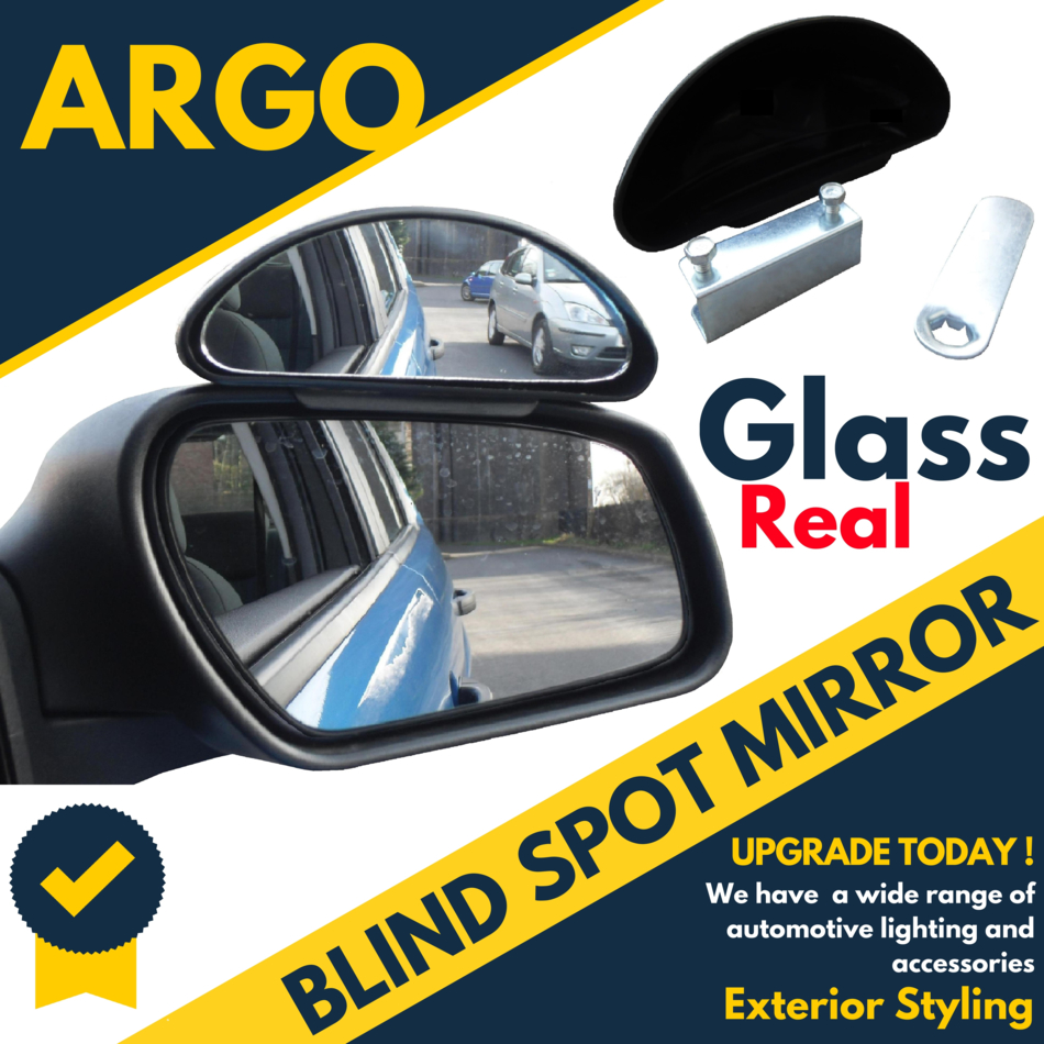 Universal Blindspot Mirror Wide Angle Easy Fit Rear Side View Vehicle Car Truck