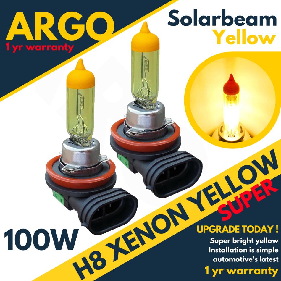 H8 100w Super White Xenon HID 708 H11 Headlight Fog Light DRL Halogen Bulbs 12v