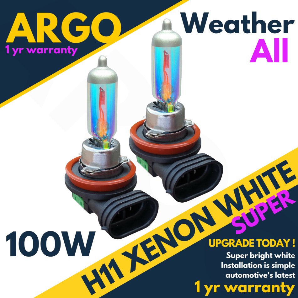 Details about Audi A4 B8 H11 100w Clear Halogen Xenon Hid Front Fog Light  Bulbs Pair