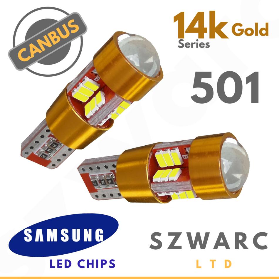 Super Bright 360 501 9 Led Chip Side Light Bulbs Strong Canbus Error Free 12v