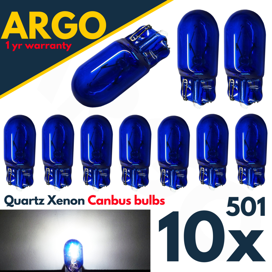 Transit MK7 06-12 Bright CANBUS DEL Side Light 501 W5W T10 13 SMD Blanc Ampoules