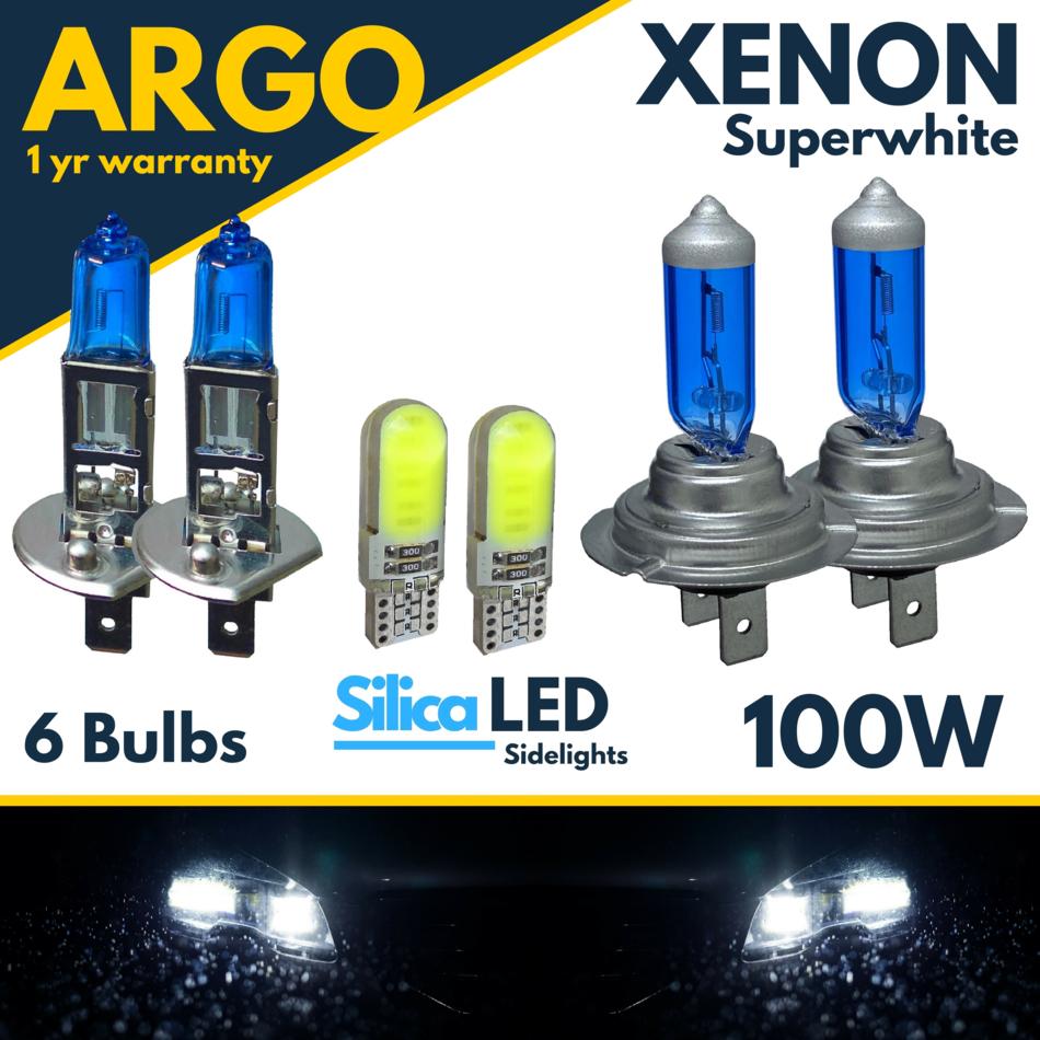 Vauxhall 55w Xenon Upgrade Main Side HeadLamp Light Bulbs WHITE Dipped Fog