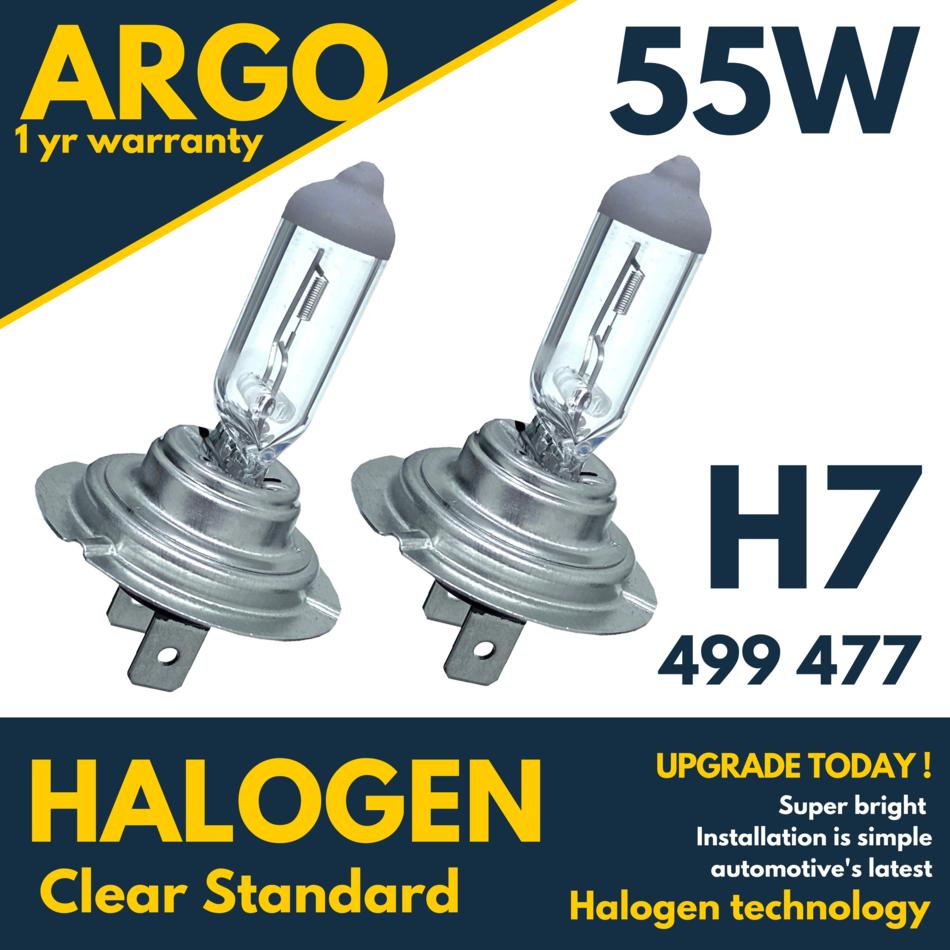 Citroen DS5 100w Super White Xenon HID High Main Beam Headlight Bulbs Pair
