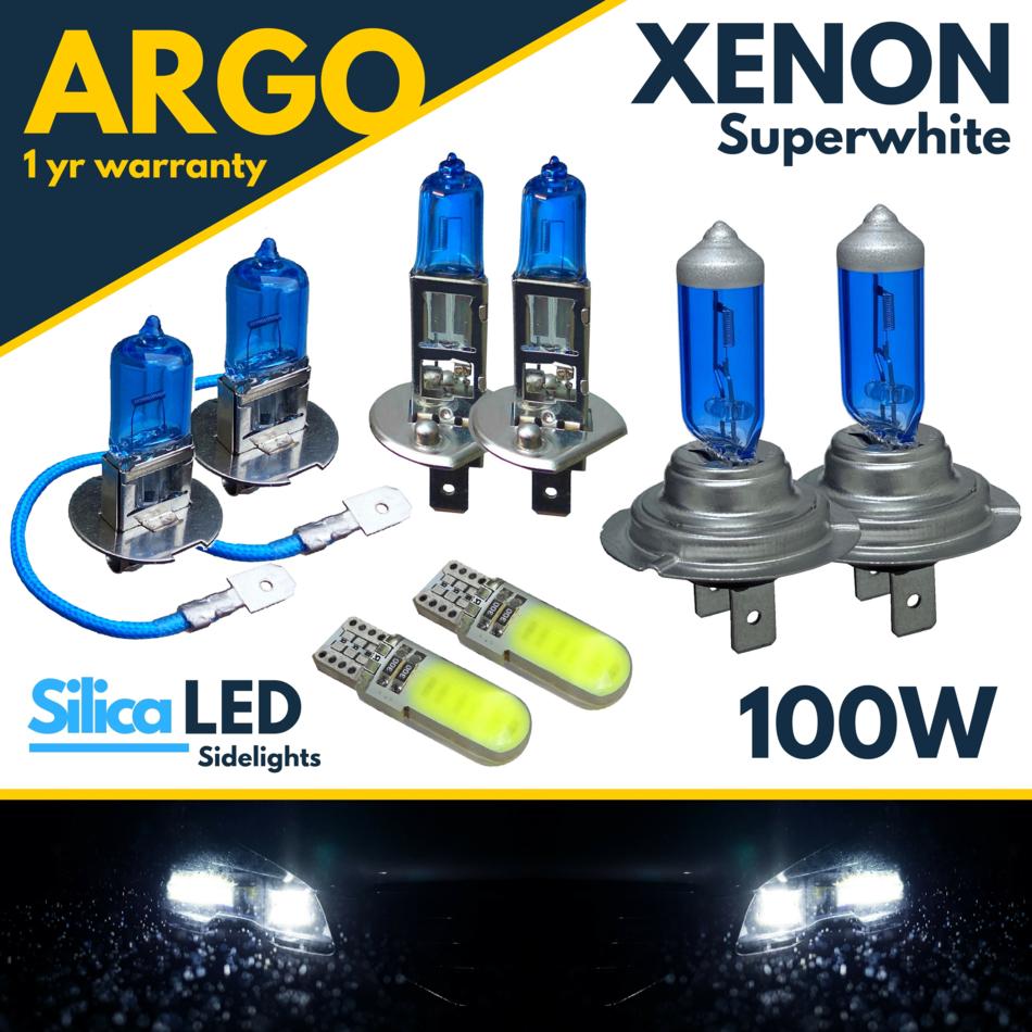Ford Transit MK5 55w Tint Xenon HID High//Low Beam Headlight Headlamp Bulbs Pair