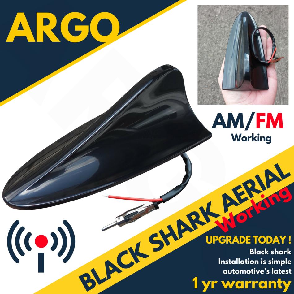 Front Aileron De Requin Antenne AM//FM Antenne Pour Ford C-Max Noir