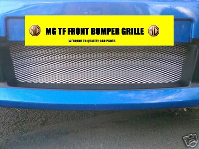 View Item MG TF MGTF CHROME FRONT BUMPER GRILLE MESH  INSTRUCTION