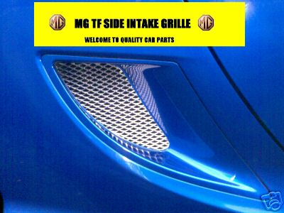 View Item MGTF MG TF SIDE INTAKE GRILLE MESH ANODISED ALUMINIUM