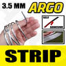 View Item CHROME EFFECT SILVER STYLING STRIP FLEXIBLE 3.5MM X 3.65M SELF ADHESIVE 3M